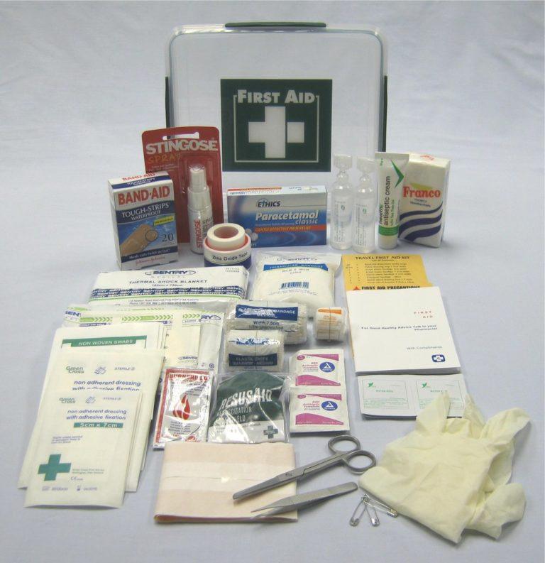 Travel First Aid Kit (Box)