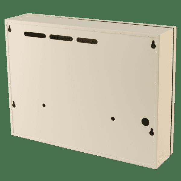 small metal storage cabinet cream 2